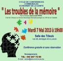 Conférence santé : les troubles de la mémoire