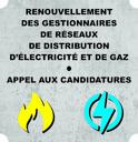 Energie : renouvellement des gestionnaires de réseaux de distribution d'électricité et de gaz