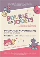 Bourse aux jouets,costumes de Carnaval,...