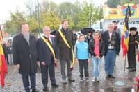 Commémoration de l'Armistice ce 8 novembre avec les enfants de l'école communale d'Alleur !