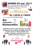 Fête du Printemps à l'école Pierre Perret