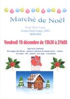 Le 19 décembre, marché de Noël à l'école Henri Lonay