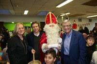Petit déjeuner avec Saint Nicolas ce 7 décembre à l'école d'Alleur.