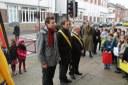 Rue de Jemeppe, une commémoration active  pour l'école du Tilleul !