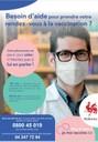 Démarrage de « Re Vax 65+ » en Wallonie :